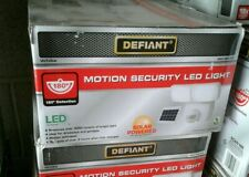 Defiant 180º Motion Activated Outdoor Solar Power Integrated LED Twin Head Light