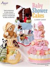 NEW ANNIE'S CROCHET BABY SHOWER CAKES CENTERPIECES/GIFTS