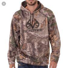 New XL RealTree Original Pullover Poly Fleece Hoodie Camo SweatShirt Hunting NWT