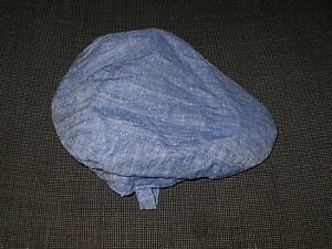 JANIE AND JACK BLUE LINEN COTTON CABBIE HAT BOY'S BABY TODDLER 12-18 MONTHS