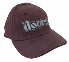 The Doors Embroidered Logo Plum Purple Baseball Hat Cap New Official NWT