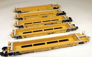 """Walthers #932-3979 305' Thrall 5 Car Well Set """"K"""" Line #72900 1/87 HO Scale"""