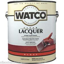 2 Gal Watco Clear Gloss Interior Wood Furniture Cabinet Trim Lacquer 63031