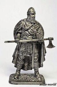Tin soldier, figure. Anglo-Saxon warrior 10th century 54 mm