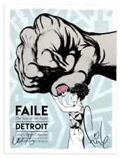 FAILE The Size of the Fight Print - Limited Edition of 100