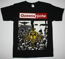 QUEENSRYCHE OPERATION MINDCRIME'88 PROGRESSIVE METAL SAVATAGE NEW BLACK T-SHIRT
