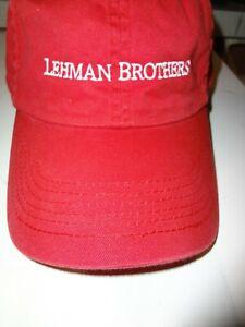 LEHMAN BROTHERS ~ SPORTS CAP ~ VINTAGE LOOK ~ BOGO OFFER - (See Details Below)
