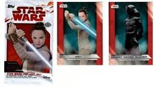 2017 Topps Star Wars THE LAST JEDI COMPLETE 100 Card Base Set 100 plus Wrapper
