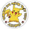 Personnalisé Pokemon Go Pikachu Stickers Anniversaire Fête Sucré Cônes Sac