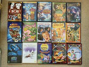 Lot 15x DVD kids Disney Original Classics