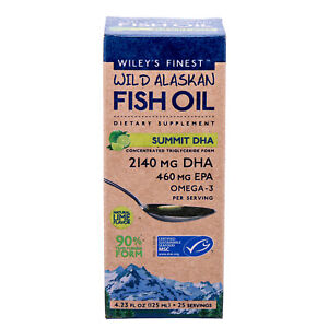 Wiley's Finest Summit DHA, 4.23 Ounce