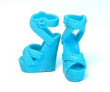 Barbie Accessories new high heels sandals platform blue shoes S700020
