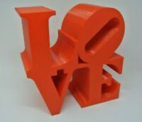 Love Statue Philadelphia Love Sculpture Valentine's Valentine Gift Decor