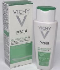 Vichy Dercos Anti-Dandruff Treatment Shampoo for Dry Hair 200ml Newest Packaging