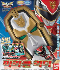 Power Rangers MegaForce Goseiger Tensou Sentai DX Gosei Morpher with 5 Cards NEW