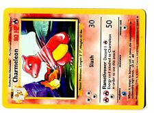 POKEMON BASE SERIE English 4th Edition CARD 2000 N°  24/102 CHARMELEON