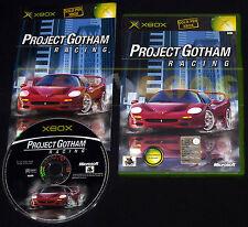 PROJECT GOTHAM RACING 1  XBOX (patch X360) Versione Italiana 1ª Ediz ○○ COMPLETO