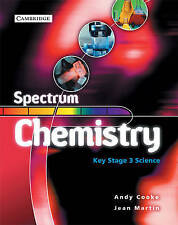 Spectrum Chemistry Class Book by Andy Cooke, Jean Martin (Paperback, 2004)