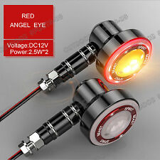 Angel Eyes For Ducati Brake Lamp Tail Light Turn Signals Lights Indicator LED