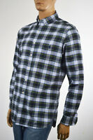 Ralph Lauren Green, Navy Blue & White Plaid Long Sleeve Shirt/Blue Pony NWT
