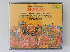 2 CD Weber Oberon Domingo Nilsson Hamari Prey Grobe Kubelik