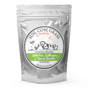 Chicken Bone Broth Collagen Powder - Pure & Organic  - Free-Range (100g)