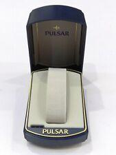 PULSAR Original Plastic Watch Box Presentation Storage Case Made in USA