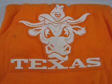 Vintage University of Texas Longhorns UT 100% Wool Pendleton Blanket with Case