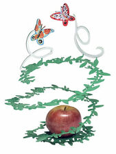 Fruit Bowl - Flying Butterflies by David Gerstein  - Israeli Art & Gifts