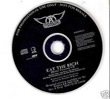 Aerosmith - Eat the rich (1993) UK PROMO CD Si + Rel-date-Str