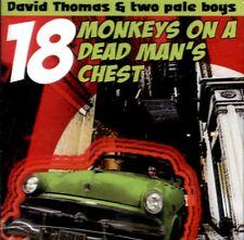 DAVID THOMAS 18 Monkeys On A Dead Man's Chest CD NEW SEALED PROMO PERE UBU