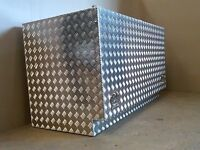 Aluminium storage box campervan motorhome caravan