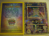 POKEMON PROMO CARD - ANCIENT MEW CARD (HOLOFOIL) - (SEALED)
