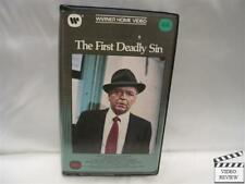 The First Deadly Sin (VHS) Frank Sinatra Faye Dunaway