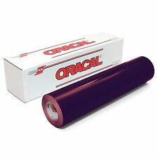 ORACAL 651 - PURPLE Outdoor Vinyl 12 inches x 10 feet roll