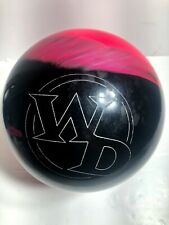 Columbia 300 WD 15 lb Pink and Black Bowling Ball C300