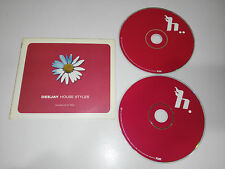 DEEJAY HOUSE STYLES MIXED BY DJ OLIVER - 2 X CD HOUSE TECHNO 2001 TEMPO MUSIC