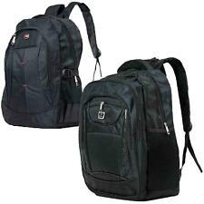 Mens Large Black Hiking Backpack & Rucksack Bag - SPORTS TRAVEL SCHOOL CAMPING