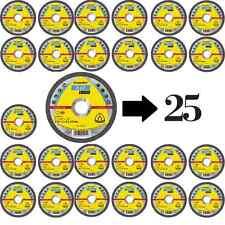 Klingspor 25 Trennscheiben A 60 EX - 125 x 1.0 - Kronenflex Inox gerade 262937