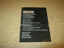 manuale d'istruzioni Flash Nissin 300 H 300HA 400 H 400 HA 400 HT - vintage -