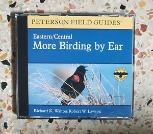 Eastern/Central More Birding By Ear Peterson Field Guide Audio CD