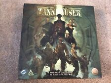 Tannhauser Board Game Unpunched Very Good Condition Fantasy Flight Games