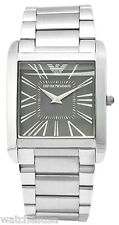Emporio Armani AR2010 Classic Grey Dial Stainless Steel Men's Watch