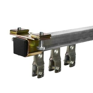 4 Metre Industrial Track theatre Curtain Track System Runners & Wheels