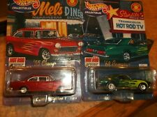 HOT WHEELS LIMITED/SPECIAL EDITION LOT OF 2, 55 CHEVY & 68 CAMARO