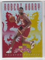 2012-13 Robert Horry #/99 Panini Crusade #83 Houston Rockets Basketball Card
