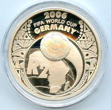 Afrique du Sud Coupe du monde de Football 2 Rand Argent 2005 PROOF