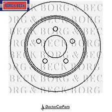 Brake Discs Pair 2x Rear for JEEP CHEROKEE 2.8 02-08 KJ ENR CRD SUV/4x4 BB