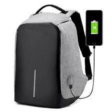 Anti-Theft Laptop Backpack WaterProof  USB Port XD Bobby Travel Sport Bag