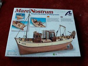Artesania Latina Model Boat Kit Mare Nostrum Fishing Trawler